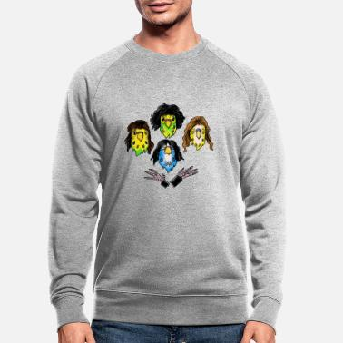 Band Birdy Rhapsody / The Queens of Animals - Männer Bio Pullover
