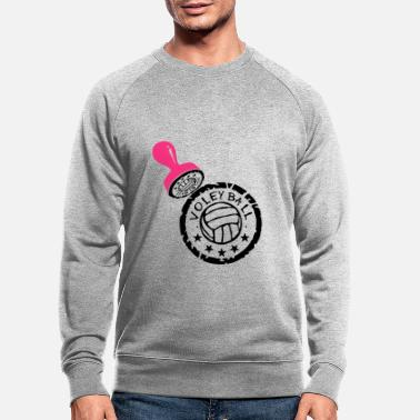 Buffer volleyball waterpolo buffer buffer puff - Men's Organic Sweatshirt