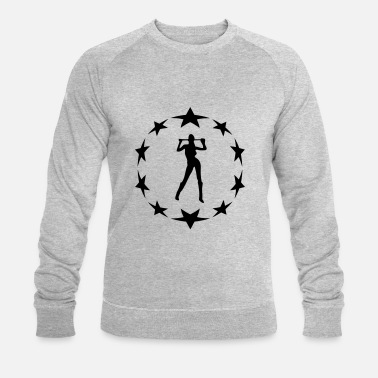Circle Underwear stars wreath special - Men's Organic Sweatshirt