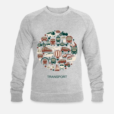 Transportation transport - Men's Organic Sweatshirt