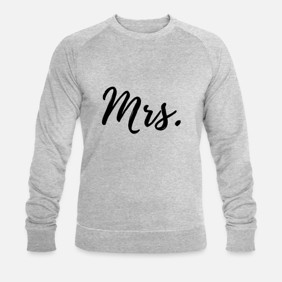 Love Hoodies & Sweatshirts - wedding - Men's Organic Sweatshirt heather grey