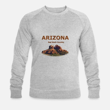 Cathedral Rock à Sedona - Sweat-shirt bio Homme