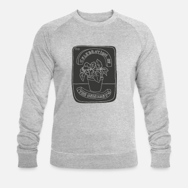 Plantsoen Celebration Of The Ordinary (Grey) - Mannen bio sweater