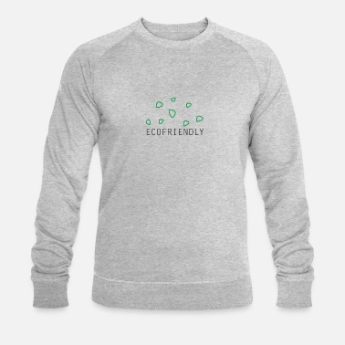 Ecofriendly ecofriendly leaves - Men's Organic Sweatshirt