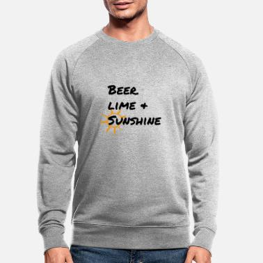 bierkalk + zonneschijn - Mannen bio sweater