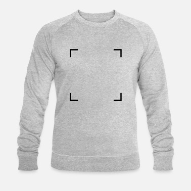 Square of corners - Men's Organic Sweatshirt