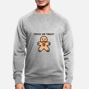 Cute Or Treat Halloween Voodoo Doll Gift - Men's Organic Sweatshirt