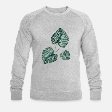 Leaf leafs - Sweat-shirt bio Homme