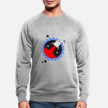 Rocket Star - Men's Organic Sweatshirt