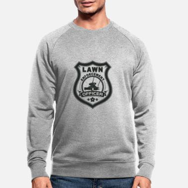 Enforcement Lawn Enforcement Officer Gift - Men's Organic Sweatshirt