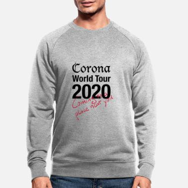 Corona World Tour - Männer Bio Pullover