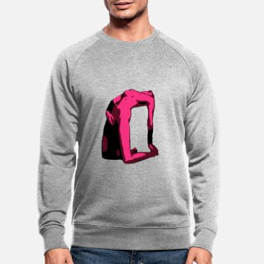 Erotic Sexy Erotic Woman - Men's Organic Sweatshirt