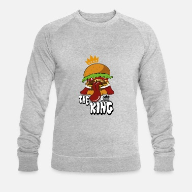 Spreadshirtlikes burger - Sweat-shirt bio Homme