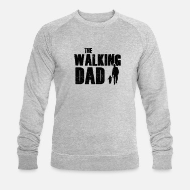 The Walking Dad - Parody Motif (Scuro) - Felpa ecologica uomo