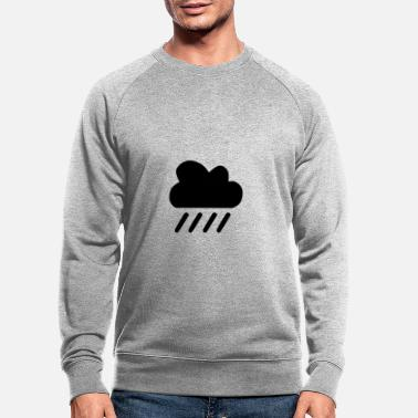 Plus Pluie pluie pluie pluie pluie - Sweat-shirt bio Homme