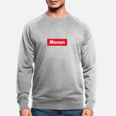 Band Manon bande rouge - Sweat-shirt bio Homme