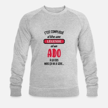 Ado adolescent / enfant / ado / adolescente - Sweat-shirt bio Homme