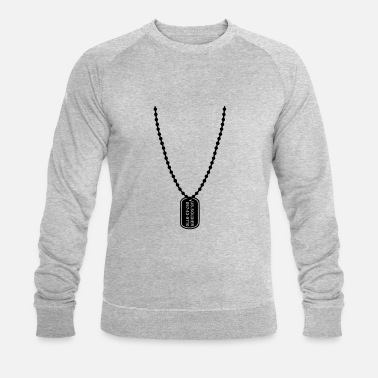 Tag Dog tag - Men's Organic Sweatshirt