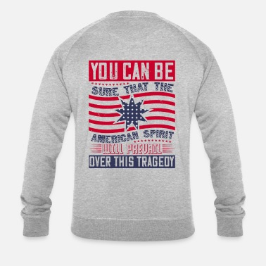 Afro Patriot Day American Spirit veut l'emporter - Sweat-shirt bio Homme