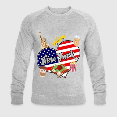 I love New York 2 - Sweat-shirt bio Stanley & Stella Homme