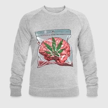 Brain - Men's Organic Sweatshirt by Stanley & Stella