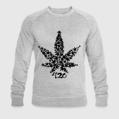 420 Leaf - Men's Organic Sweatshirt by Stanley & Stella