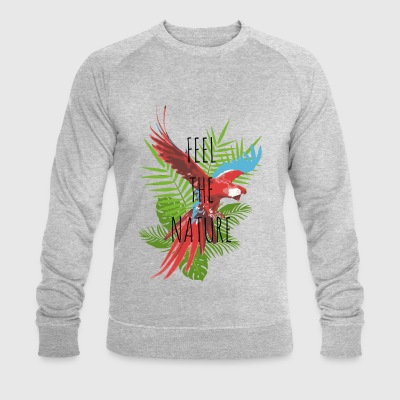 Feel the nature - Men's Organic Sweatshirt by Stanley & Stella