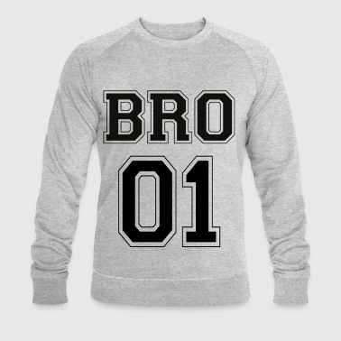 BRO 01 - Black Edition - Men's Organic Sweatshirt by Stanley & Stella