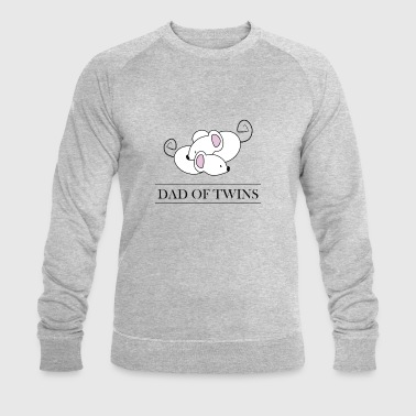 DAD OF TWINS // Daddy of Twins - Men's Organic Sweatshirt by Stanley & Stella
