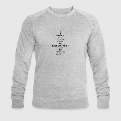 BASS GUITARIST - Men's Organic Sweatshirt by Stanley & Stella