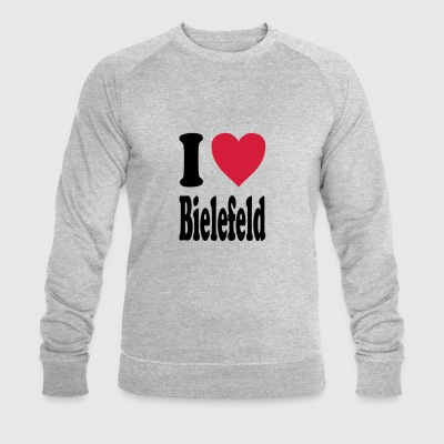 I love Bielefeld - Men's Organic Sweatshirt by Stanley & Stella