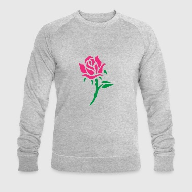 rose - Men's Organic Sweatshirt by Stanley & Stella