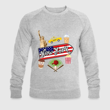 I love New York - Sweat-shirt bio Stanley & Stella Homme