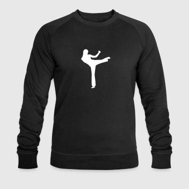 woman fighting - Mannen bio sweatshirt van Stanley & Stella