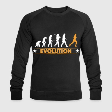Running Evolution - orange/weiss - Sweat-shirt bio Stanley & Stella Homme