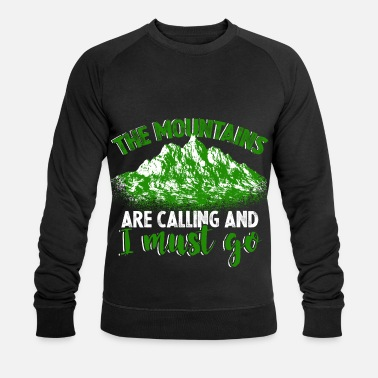 Alpine Club Mountain air Alps Alpine Club - Men's Organic Sweatshirt