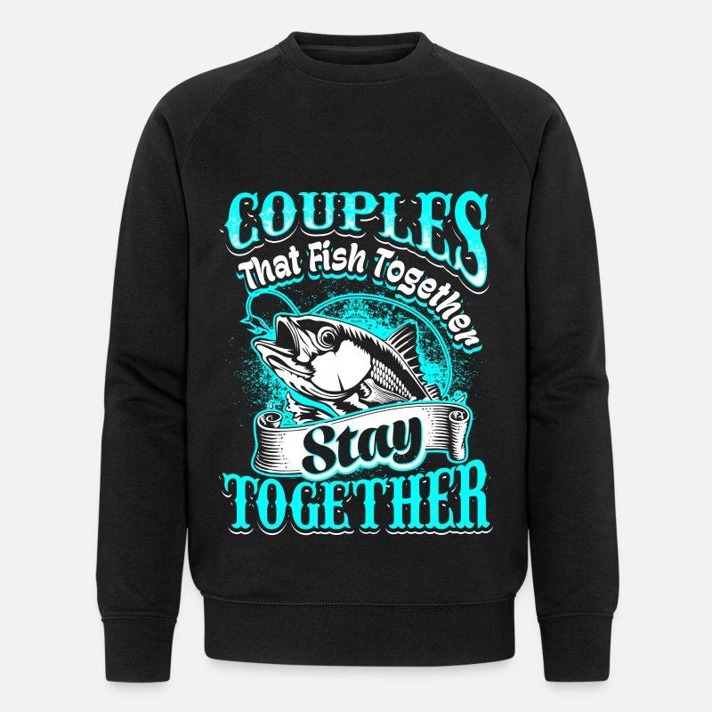 Par Tröjor - Par - fiske - sv - Ekologisk tröja herr svart 9d8382ce56b9d