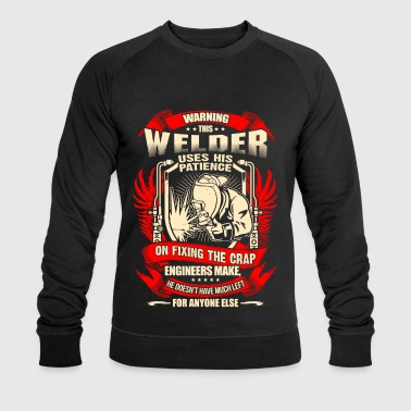 Welder Fixing Crap Engineers Make – EN - Økologisk sweatshirt for menn fra Stanley & Stella