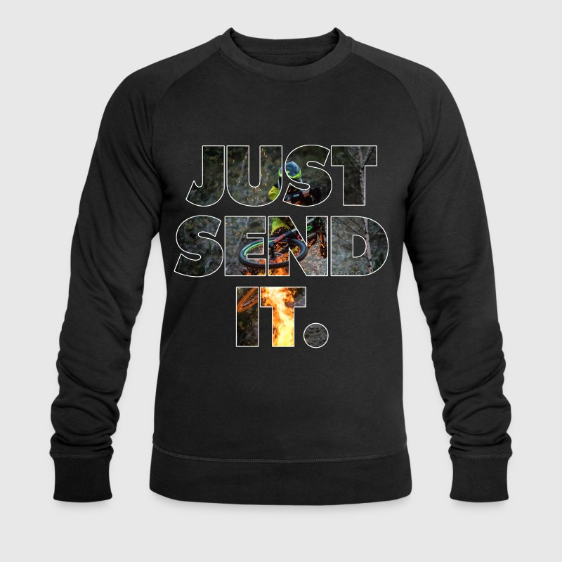 just send it - Männer Bio-Sweatshirt von Stanley & Stella