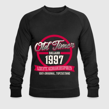 Production Year Vintage - year of production 1997 - top condition - DE - Men's Organic Sweatshirt by Stanley & Stella
