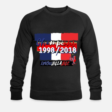Coupe Du Monde De Foot france foot coupe du monde  - Sweat-shirt bio Stanley & Stella Homme
