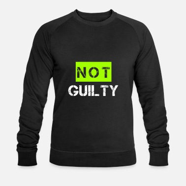 Guilty not guilty - Men's Organic Sweatshirt by Stanley & Stella