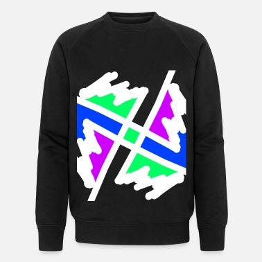 bf91b25b2501 Stjerner Sol Tyrkiet Spanien Portugal Italien Neon - Økologisk sweatshirt  mænd