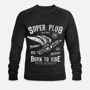 Super Bike Shirt Regalo Moto & Bike - SUPER SPINA - Felpa ecologica da uomo di Stanley & Stella