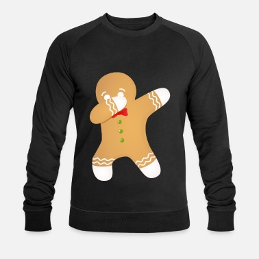 Ugly Christmas Cookie - Dabbing Dab Dance Gift - Men's Organic Sweatshirt by Stanley & Stella