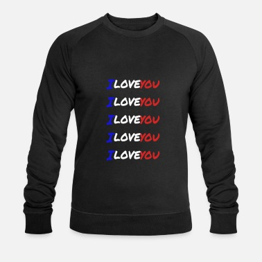I-love-you I love you France - Sweat-shirt bio Stanley & Stella Homme