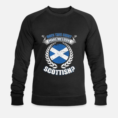 Scottish Scottish shirt gift - Men's Organic Sweatshirt by Stanley & Stella