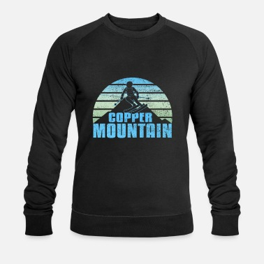 Copper mountain colorado skiing - Men's Organic Sweatshirt