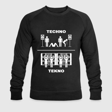 Techno vs Tekno - Sweat-shirt bio Stanley & Stella Homme