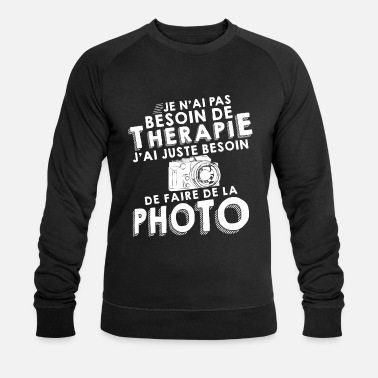 Appareil Photo Thérapie photo - Sweat-shirt bio Stanley & Stella Homme
